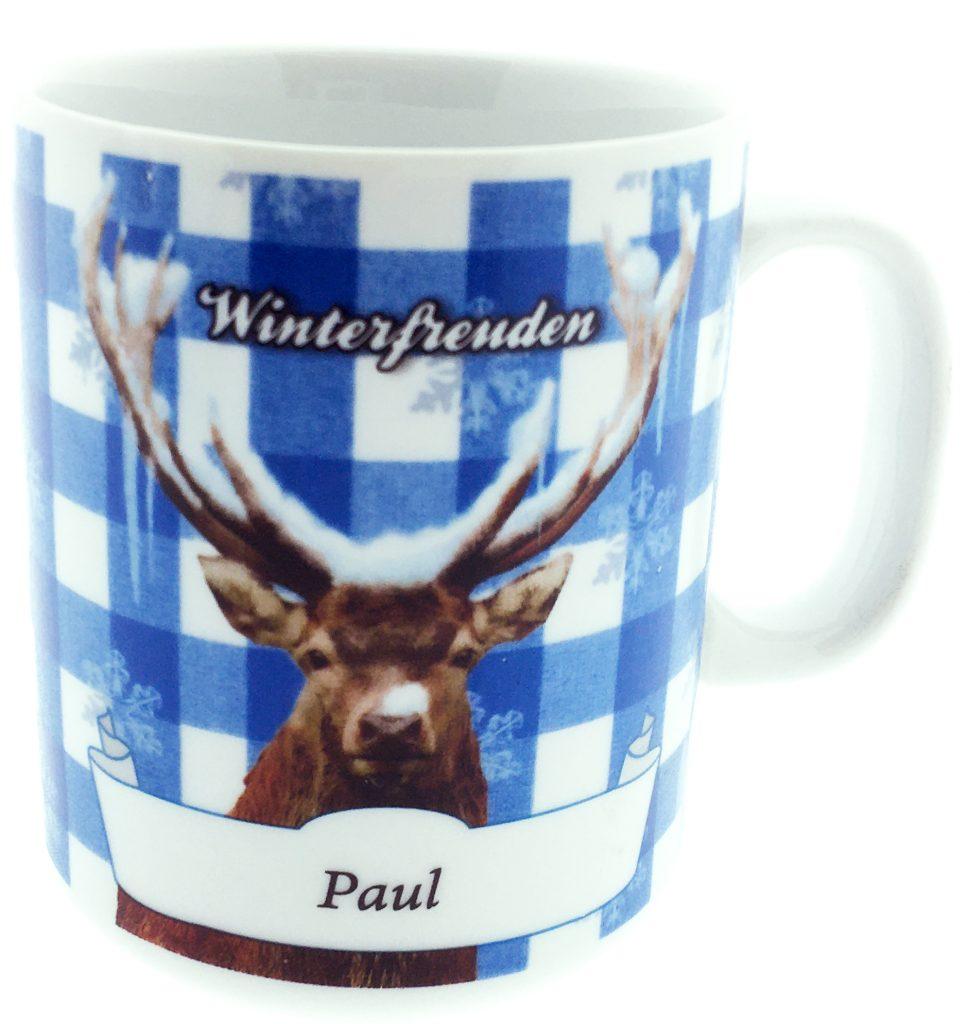Almrausch Namentasse Winterfreuden